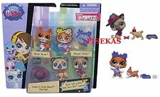 LPS Littlest Pet Shop Styles to Howl About Pet Pair Set Dog #3769 #3770 Deco NEW