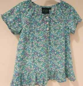 Mini Boden Floral Top Girl's Size 7-8