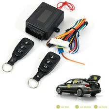 Car Remote Central Kit Door Lock Locking Keyless Entry System With 2 Controllers