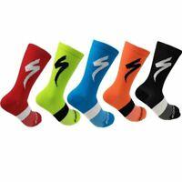 Men's Cycling Riding Bicycle Socks Breathbale Basketball Sport Socks