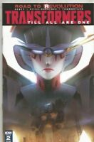 TRANSFORMERS #2 TILL ALL ARE ONE ~ REVOLUTION  IDW. COVER A
