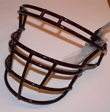New Schutt RJOP DW Maroon DNA Football Helmet Facemask Stainless Steel