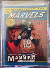 2020 Donruss Football Peyton Manning Marvels Foil Case Hit SSSP Broncos Colts