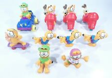 Vintage Garfield Lot McDonalds Happy Meal Toys Figures Fast Free Shipping