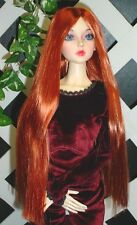 """DOLL Wig, Monique Gold """"Paris"""" Size 4/5 in Carrot Red"""