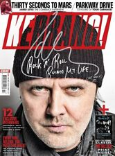 Kerrang! Magazine #1715: Lars Ulrich METALLICA Jared Leto THIRTY SECONDS TO MARS