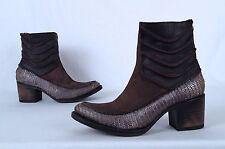 NEW!! Freebird 'Crank' Short Boot-  Brown- Size 7 US  (P12)