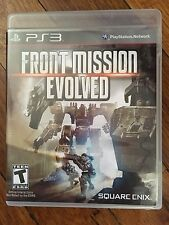 Front Mission Evolved (Sony PlayStation 3, 2010) Complete