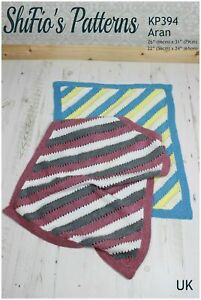 Knitting Pattern for Babies Blanket, Striped Blanket Pattern, Baby Knitting P...