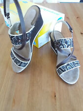 Chaussures sandales femme SCHOLL Brade Talons hauts Marron Taille 37 NEUVES