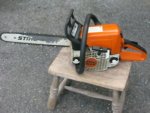 Stihl MS 230 Chainsaw + tools,oil, helmet, gloves etc