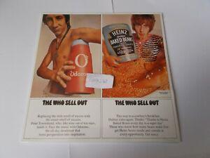33 tours des WHO  Sell Out Vinyle avec poster neuf et emballé