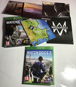 Watchdogs 2 Deluxe Edition Xbox One (FAST FREE POSTAGE) Manual