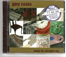 (GP468A) Gary Cooke, Songs For Everyday Use - 2005 CD