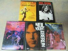 NEIL YOUNG LIVE CONCERT DVD LOT OF 5 DIFFERENT