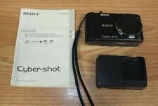 Genuine Sony Cybershot (DSC-H55) 14.1 Mega Pixels Black Digital Camera **READ**