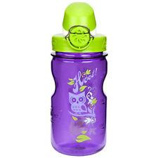Nalgene Kids On the Fly Water Bottle - 12 oz.- Hoot Purple/Green