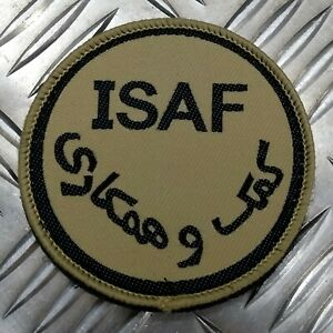 Genuine British ARMY ISAF International Security Assistance Force DS Badge IS8
