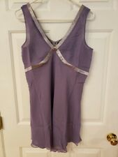 SUZANNE SOMERS WOMENS PURPLE/SILVER SLEEVELESS DRESS SIZE 8 NWOT