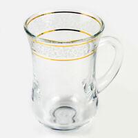Turkish Style Tea Cup, Tea Glass Coffee Cup, 4.5 fl oz Teacup High Quality Glass