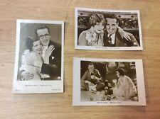 Harold Lloyd - 3 alte Ross- Starpostkarten