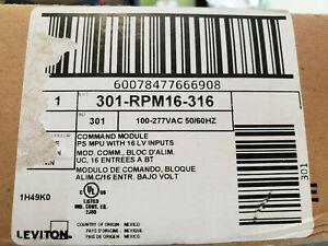 Brand New Leviton Greenmax 301-RPM16-316 Lighting Controller Command Unit