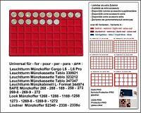 Look 12329-60-27,5 Münztableaus 60x  27,5 mm Für 2 Euro DM Zloty 5 € Klima Erde
