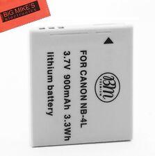 BM Premium NB-4L Battery For Canon Vixia mini PowerShot Elph 100 HS Elph 300 HS