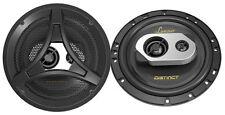 Lanzar DCT65.3 Distinct Series 6.5-Inch 200-Watt 2-Way Coaxial Speaker, Set of 2