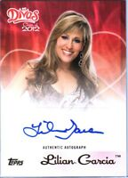 WWE Lilian Garcia Topps Divas Class of 2012 Authentic Autograph Card