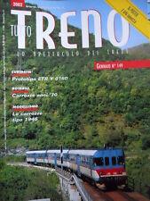 Tutto Treno 149 - Carrozze anni 70 - ETR Y 0160 - Poster E 636 navetta
