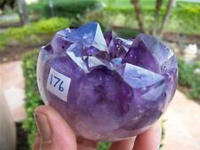 Amethyst/Agate Geode Sphere Highly Polished Quartz Face w/ FREE SHIPPING