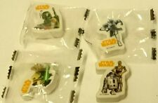 STAR WARS Surprise egg Toys - Erasers X4  3 in bags