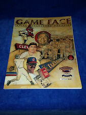 1993 CLEVELAND GAMEFACE PROGRAM FROM FINAL SERIES AT CLEVELAND STADIUM