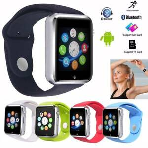 Bluetooth Smart Watch Sleep Monitor SIM GSM Phone For Android Samsung S20 S9 S8+