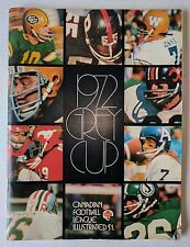 1972 Grey Cup CFL Program Football Hamilton Tiger-Cats Saskatchewan Roughriders