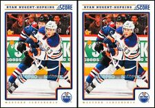 2x SCORE 2012 RYAN NUGGET HOPKINS NHL EDMONTON OILERS SUPERSTAR #191 MINT LOT
