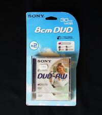 *** LOT DE DEUX DVD-RW SONY POUR CAMESCOPE 1.4GB ACCUCORE ***