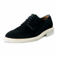 Mark Jacobs Men's Black Suede Leather Casual Oxfords Shoes
