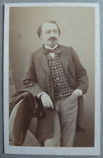 Photo Carte de Visite Cdv Ancienne Maison Gustave Le Gray Vers 1860