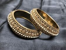 indian bollywood jewellery bangles/Hand chain/Kara/Bracelet. Size 2.8