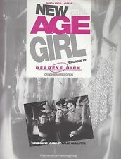 New Age Girl-hachazos Dick - 1994 Partituras