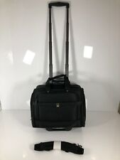 "Travelpro Flightpro 4 15"" Rolling Tote Carry On Black Crew"