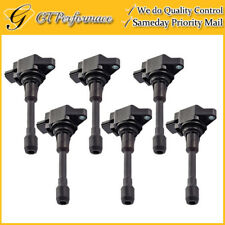 OEM Quality Ignition Coil 6PCS for Infiniti FX50 M56/ Nissan Altima Sentra Versa