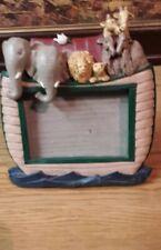 Noahs ark picture frame holds 5x3