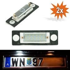 LED Kennzeichenbeleuchtung VW Passat 3C B6 T5 Caddy Touran Golf Plus Skoda D03