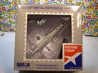 USAF F-104 STARFIGHTER 479TH TFW DARON 1:120 SCALE DIECAST DISPLAY MODEL