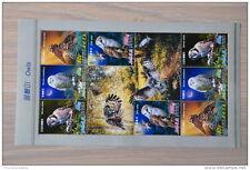 M1 - 88 ++ KOREA BIRDS OISEAUX VOGELS UILEN OWLS MNH **