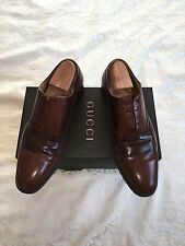 Men's Gucci Designer Leather Oxford shoes EU46 with box and Gucci dustbags