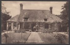 Postcard Eastnor near Ledbury early view of The Old Post Office publ by Tilley